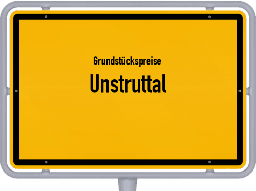 Grundstückspreise Unstruttal 2019