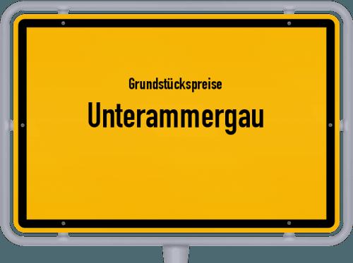 Grundstückspreise Unterammergau 2021