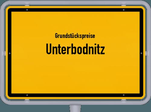 Grundstückspreise Unterbodnitz 2019
