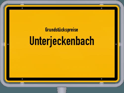 Grundstückspreise Unterjeckenbach 2019