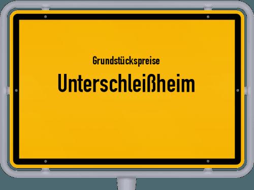 Grundstückspreise Unterschleißheim 2019