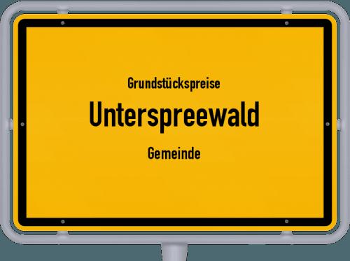 Grundstückspreise Unterspreewald (Gemeinde) 2021