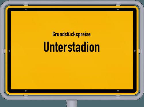 Grundstückspreise Unterstadion 2021