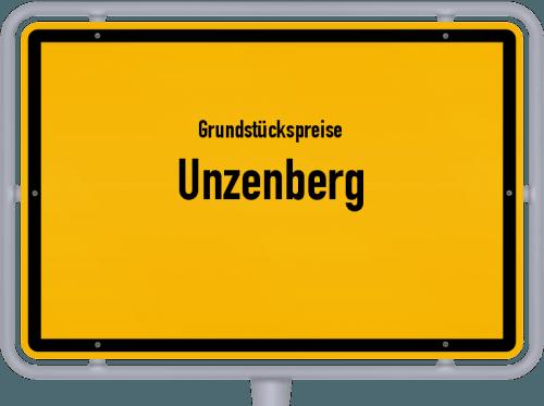 Grundstückspreise Unzenberg 2019