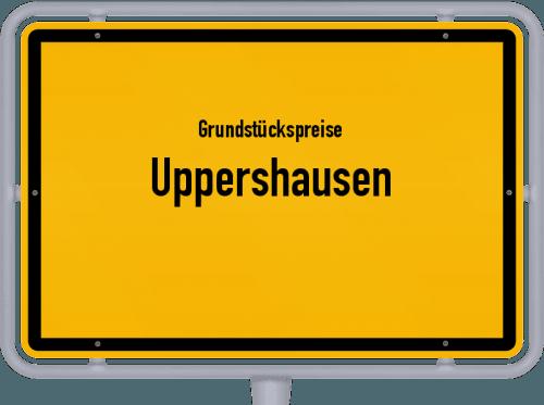 Grundstückspreise Uppershausen 2019