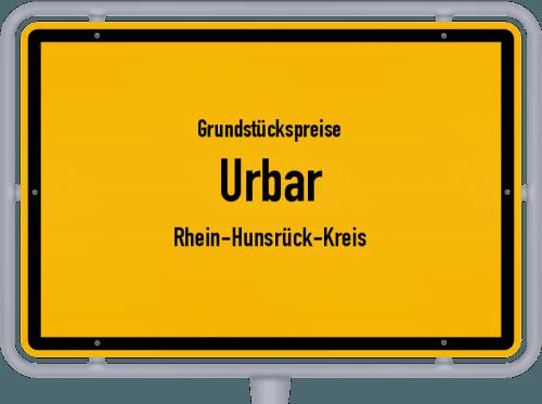Grundstückspreise Urbar (Rhein-Hunsrück-Kreis) 2019
