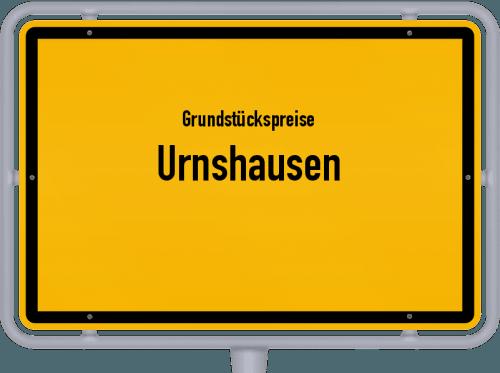 Grundstückspreise Urnshausen 2019