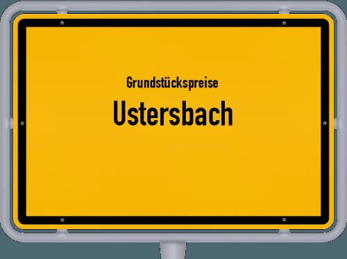 Grundstückspreise Ustersbach 2021