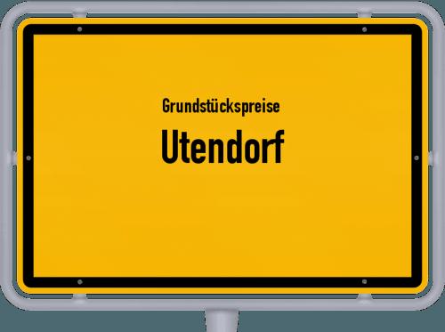 Grundstückspreise Utendorf 2019