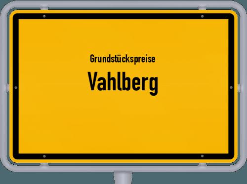 Grundstückspreise Vahlberg 2021