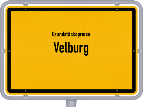 Grundstückspreise Velburg 2019