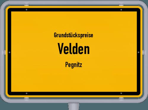 Grundstückspreise Velden (Pegnitz) 2021