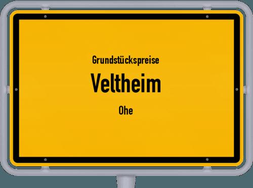 Grundstückspreise Veltheim (Ohe) 2019