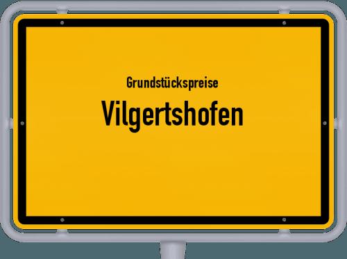 Grundstückspreise Vilgertshofen 2021