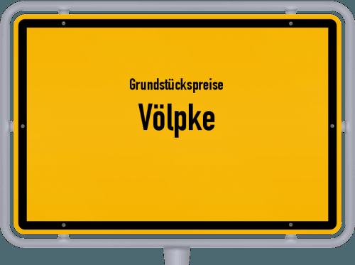 Grundstückspreise Völpke 2021