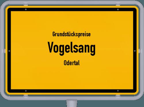 Grundstückspreise Vogelsang (Odertal) 2021