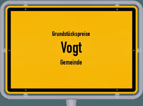 Grundstückspreise Vogt (Gemeinde) 2021