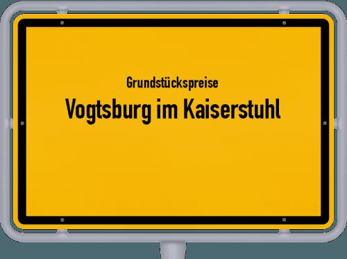 Grundstückspreise Vogtsburg im Kaiserstuhl 2021