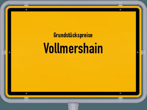 Grundstückspreise Vollmershain 2019