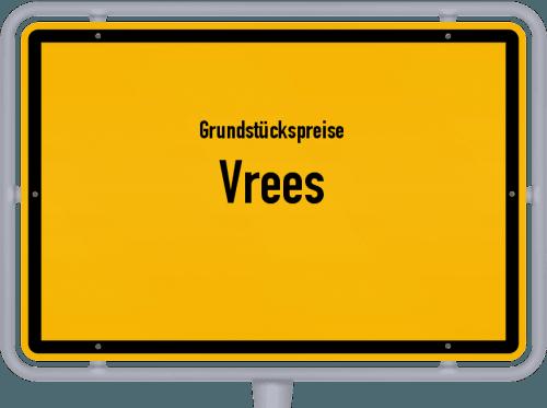 Grundstückspreise Vrees 2019