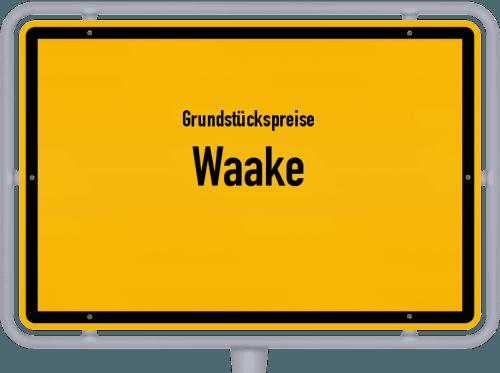 Grundstückspreise Waake 2019