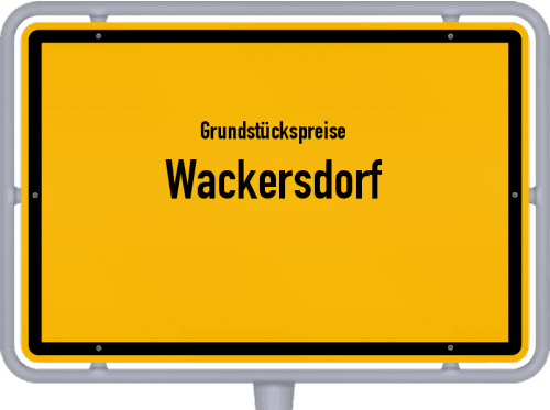 Grundstückspreise Wackersdorf 2019