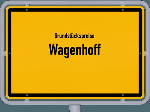 Grundstückspreise Wagenhoff 2021