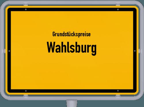 Grundstückspreise Wahlsburg 2020