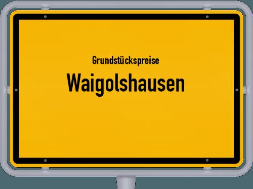 Grundstückspreise Waigolshausen 2019