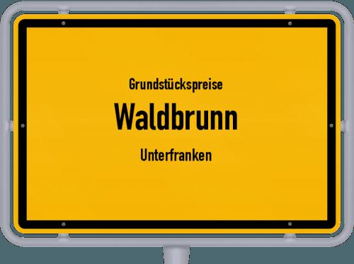 Grundstückspreise Waldbrunn (Unterfranken) 2021