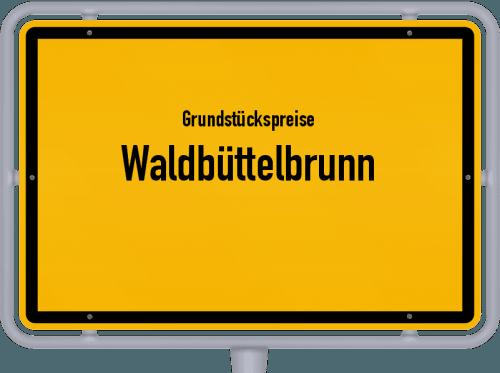 Grundstückspreise Waldbüttelbrunn 2019