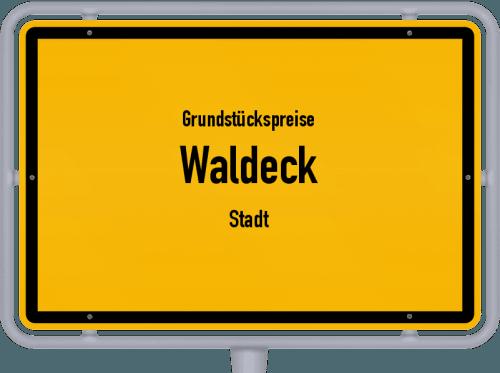 Grundstückspreise Waldeck (Stadt) 2020
