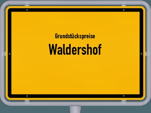 Grundstückspreise Waldershof 2021