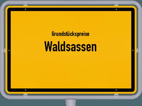 Grundstückspreise Waldsassen 2019