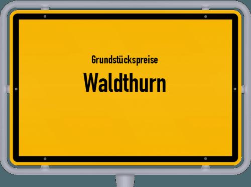 Grundstückspreise Waldthurn 2021