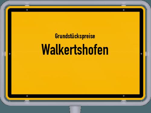 Grundstückspreise Walkertshofen 2019