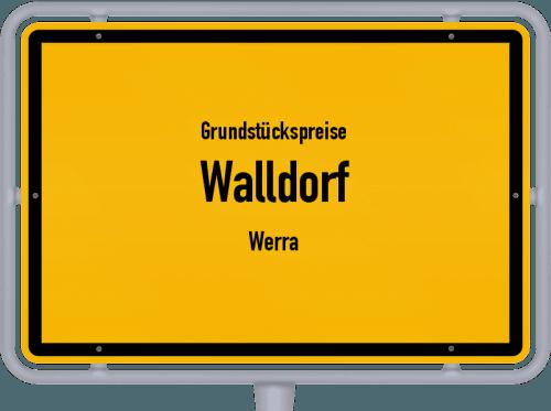 Grundstückspreise Walldorf (Werra) 2019