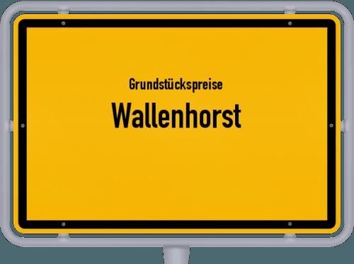 Grundstückspreise Wallenhorst 2021