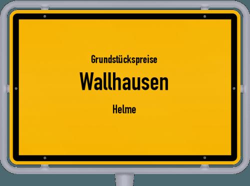 Grundstückspreise Wallhausen (Helme) 2021