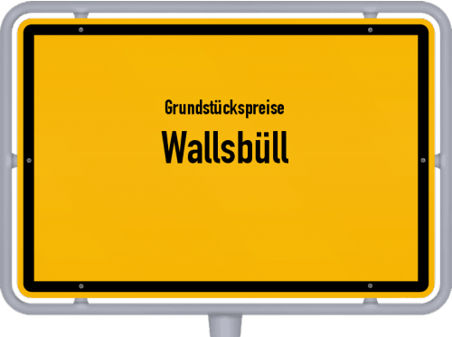 Grundstückspreise Wallsbüll 2021