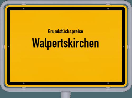 Grundstückspreise Walpertskirchen 2019