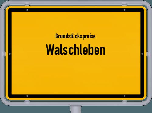 Grundstückspreise Walschleben 2019