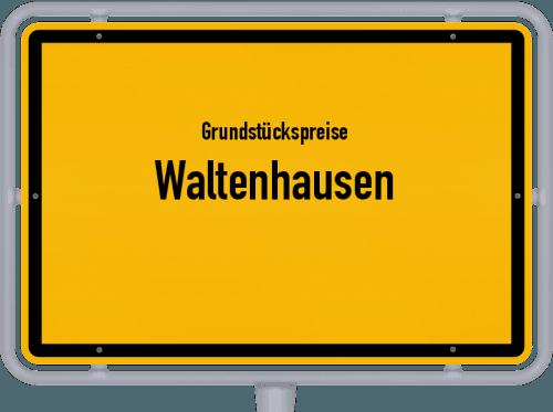 Grundstückspreise Waltenhausen 2021