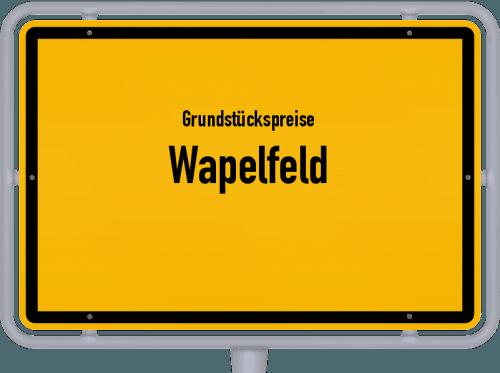 Grundstückspreise Wapelfeld 2021