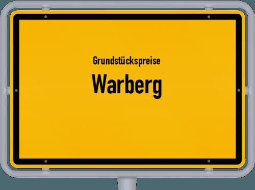 Grundstückspreise Warberg 2021