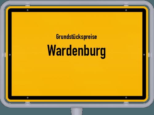 Grundstückspreise Wardenburg 2021