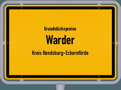 Grundstückspreise Warder (Kreis Rendsburg-Eckernförde) 2021