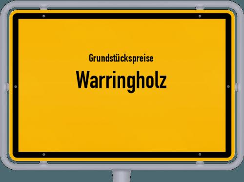 Grundstückspreise Warringholz 2021