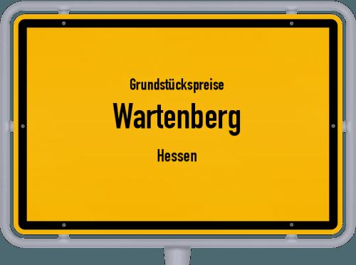 Grundstückspreise Wartenberg (Hessen) 2018