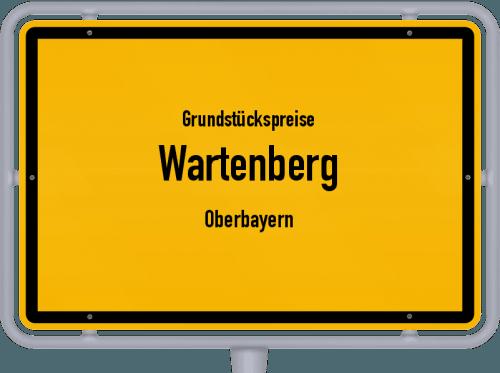 Grundstückspreise Wartenberg (Oberbayern) 2019